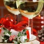 Сервировка новогоднего стола - фото 43