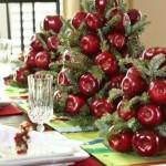 Сервировка новогоднего стола - фото 44