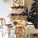 Сервировка новогоднего стола - фото 8