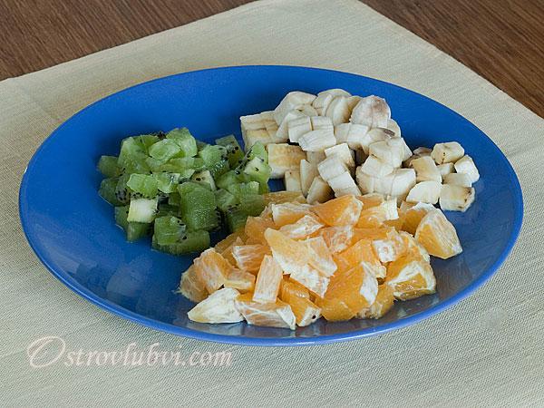 Фруктовый салат приготовление