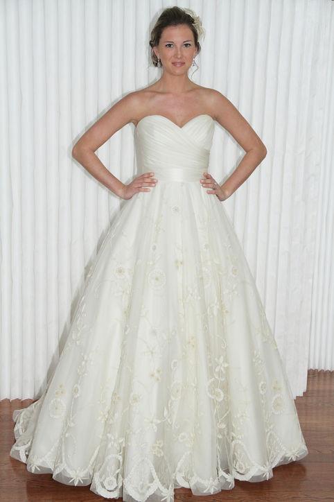 Свадебные платья 2014 - фото 25