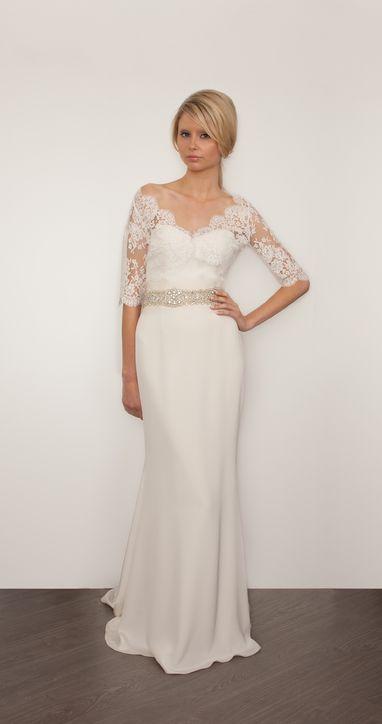 Свадебные платья 2014 - фото 35