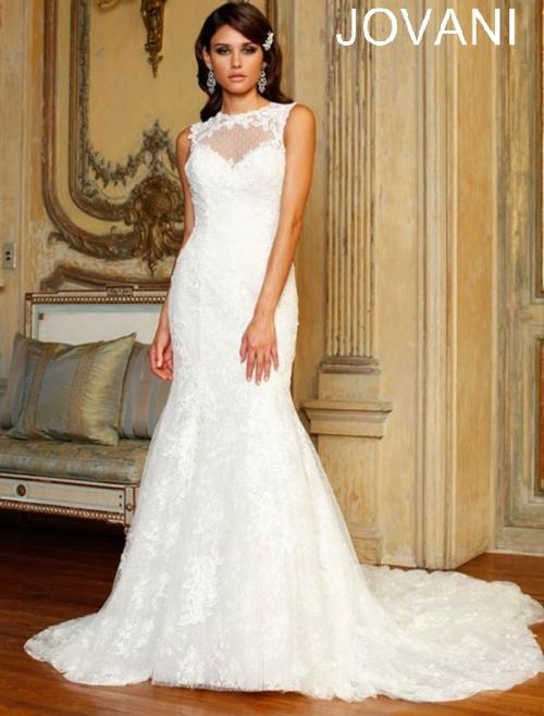 Свадебные платья 2014 - фото 43