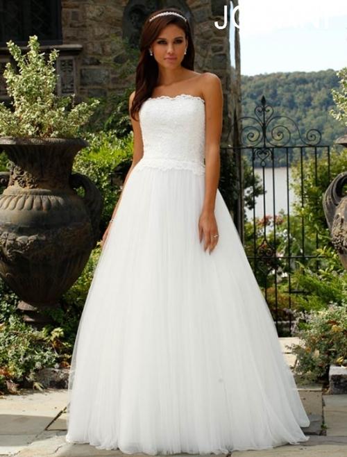 Свадебные платья 2014 - фото 44