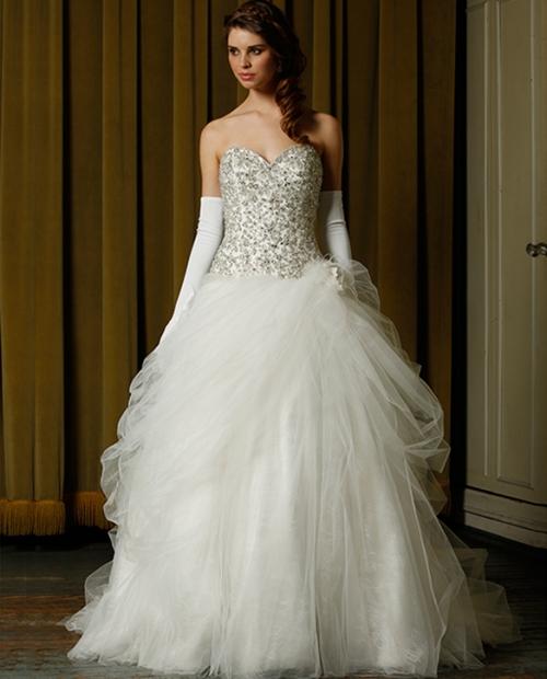 Свадебные платья 2014 - фото 51