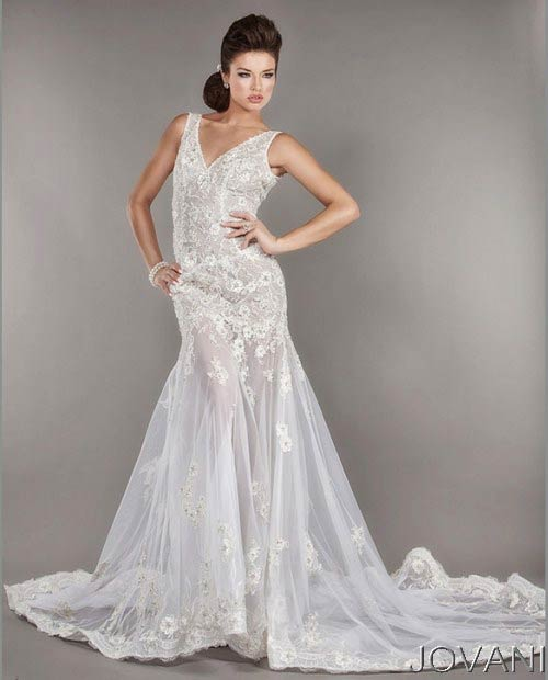 Свадебные платья 2014 - фото 58