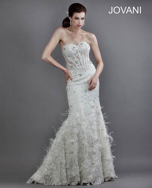 Свадебные платья 2014 - фото 64