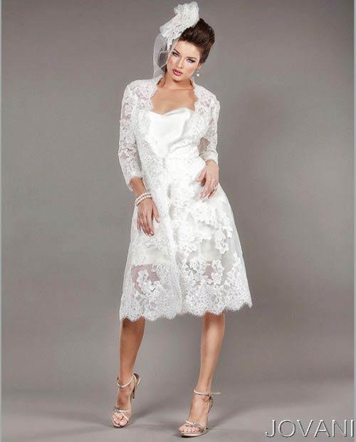 Свадебные платья 2014 - фото 68