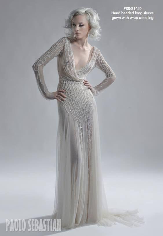 Свадебные платья 2014 - фото 71