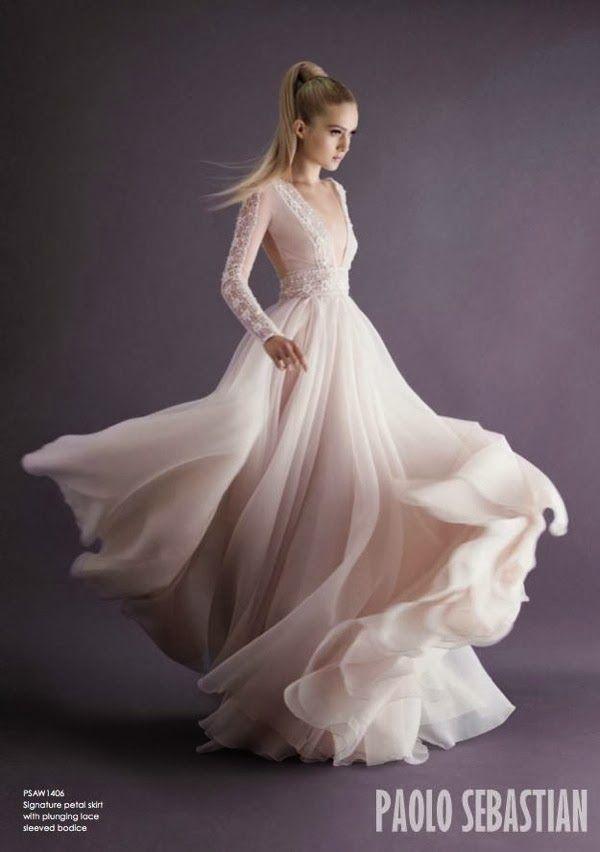 Свадебные платья 2014 - фото 73