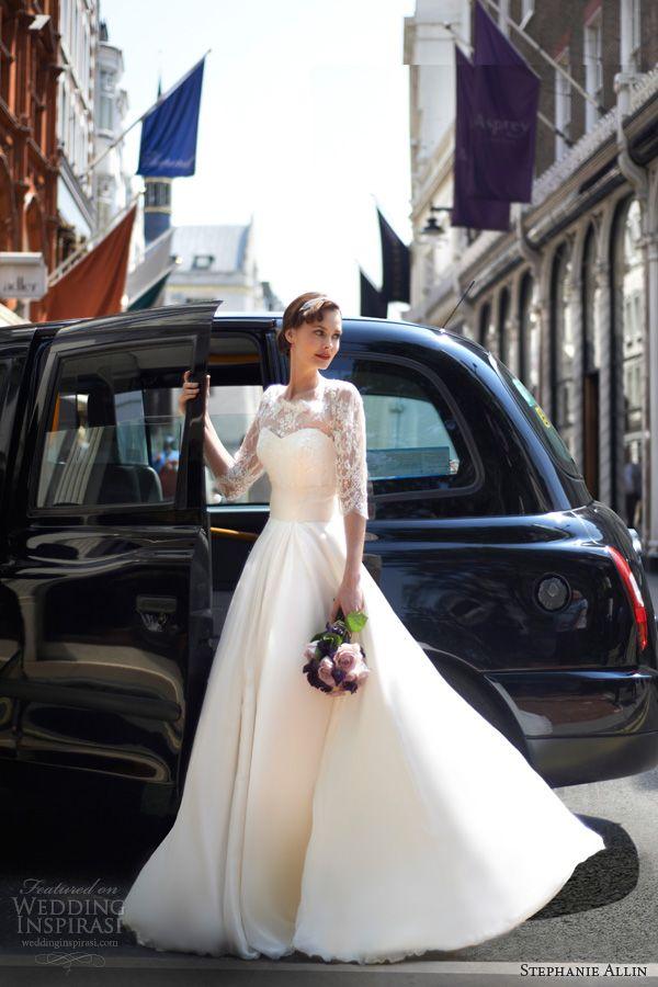 Свадебные платья 2014 - фото 74