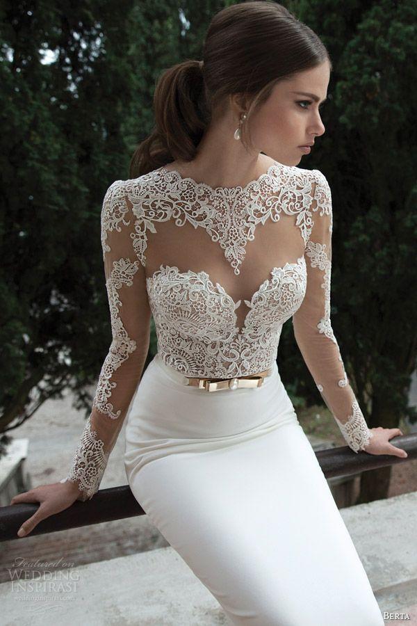Свадебные платья 2014 - фото 75