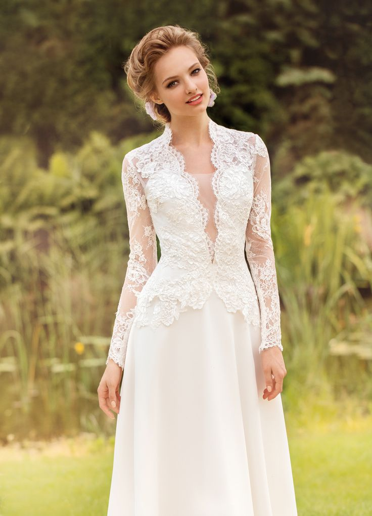 Свадебные платья 2014 - фото 78
