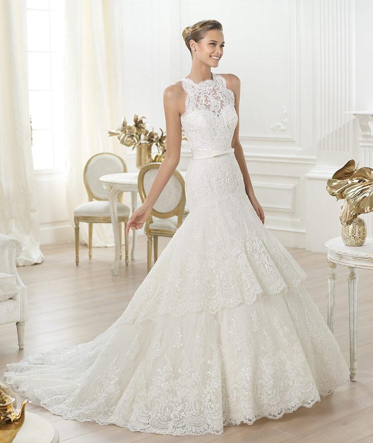 Свадебные платья 2014 - фото 82