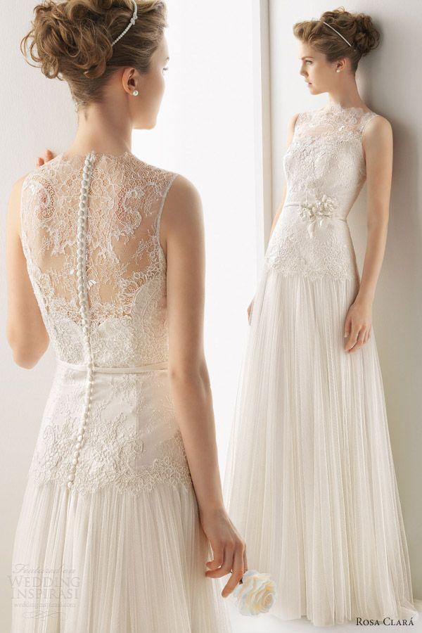 Свадебные платья 2014 - фото 87