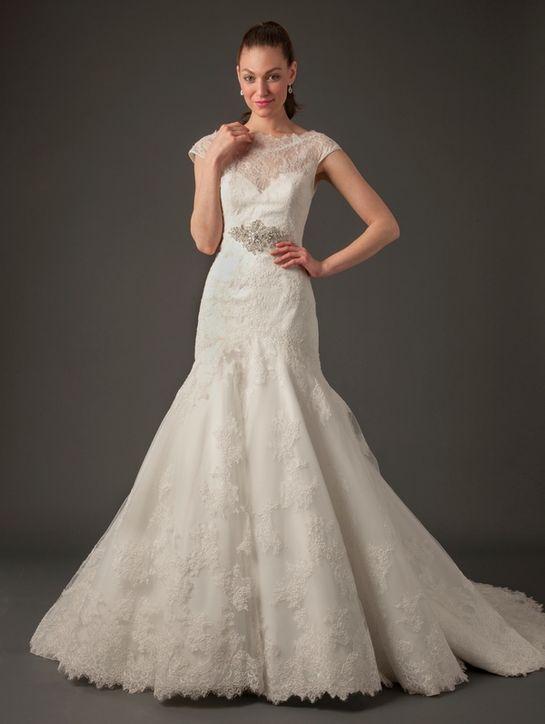 Свадебные платья 2014 - фото 9