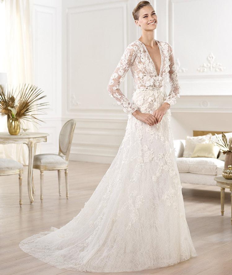 Свадебные платья 2014 - фото 90