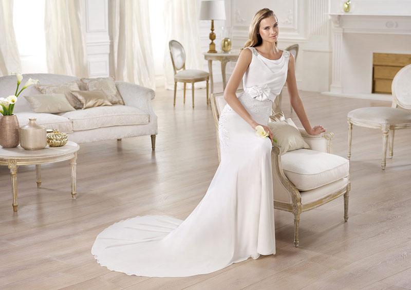 Модные тенденции свадебных платьев 2014