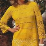 Схемы вязаных свитеров спицами