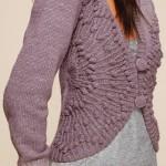 Схемы вязаных свитеров спицами - 13