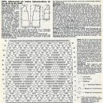 Схемы вязаных свитеров спицами - 2