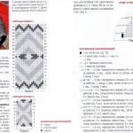 Схемы вязаных свитеров спицами - 22