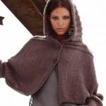 Схемы вязаных свитеров спицами - 23