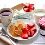 Украшение блюд на день святого Валентина - 10