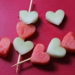 Украшение блюд на день святого Валентина - 11
