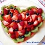 Украшение блюд на день святого Валентина - 15