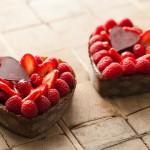 Украшение блюд на день святого Валентина - 19