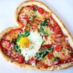 Украшение блюд на день святого Валентина - 3