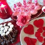 Украшение блюд на день святого Валентина - 4