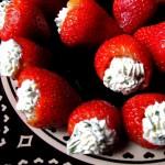 Украшение блюд на день святого Валентина - 8