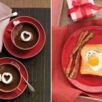 Украшение блюд на день святого Валентина - 9