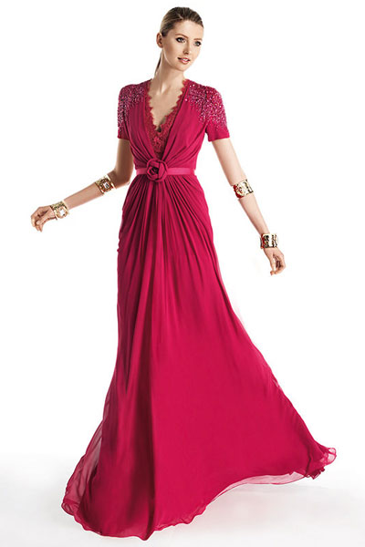 Вечерние платья 2014 - 43
