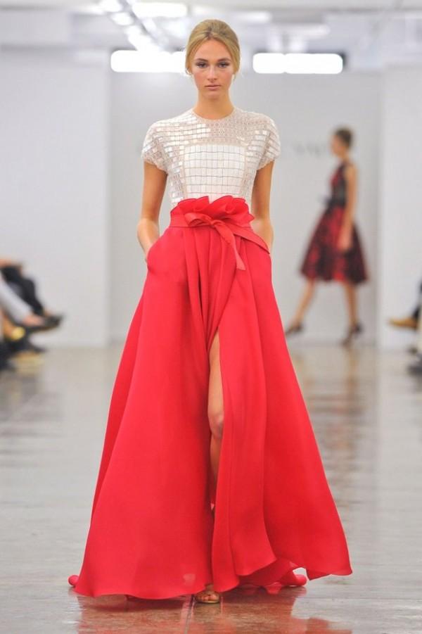 Вечерние платья 2014 - 58