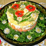 Украшение блюд к 8 марта - фото 14