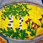 Украшение блюд к 8 марта - фото 17