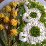 Украшение блюд к 8 марта - фото 25
