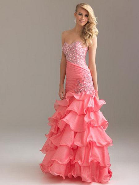 Выпускные платья 2014 - 26