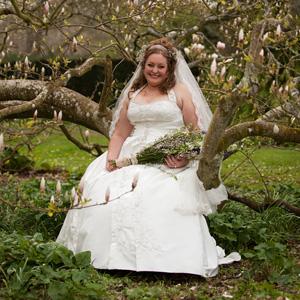 Как выбрать свадебное платье для полной девушки