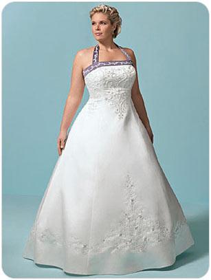 Силуэт платья для полной девушки