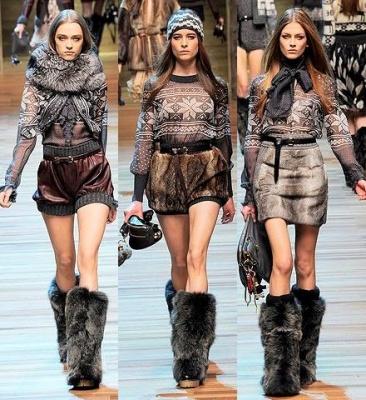 Модные тенденции осень-зима 2014-2015 - фото 6