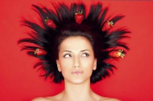 Маски из клубники для волос