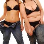 О чем говорит жир в разных зонах тела