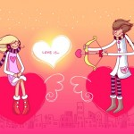 Конкурсы на день святого Валентина.