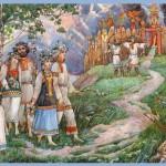 Свадебные обычаи и обряды славян.