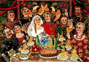 Свадебные обычаи славян.