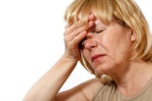 Симптомы менопаузы.